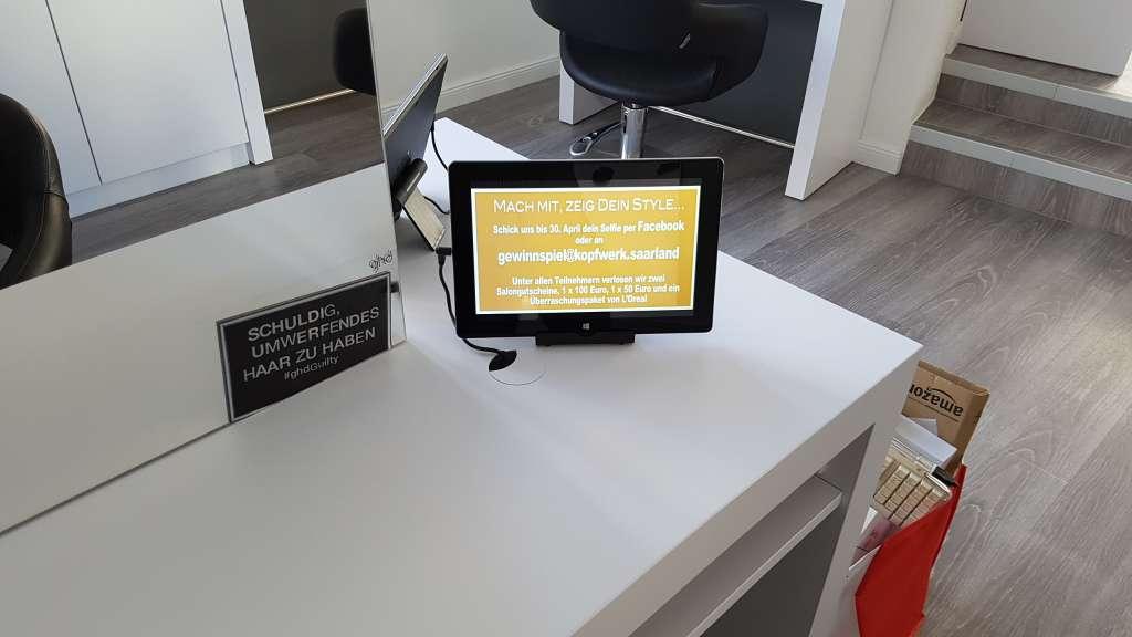 Kopfwerk Digital Signage PLANB