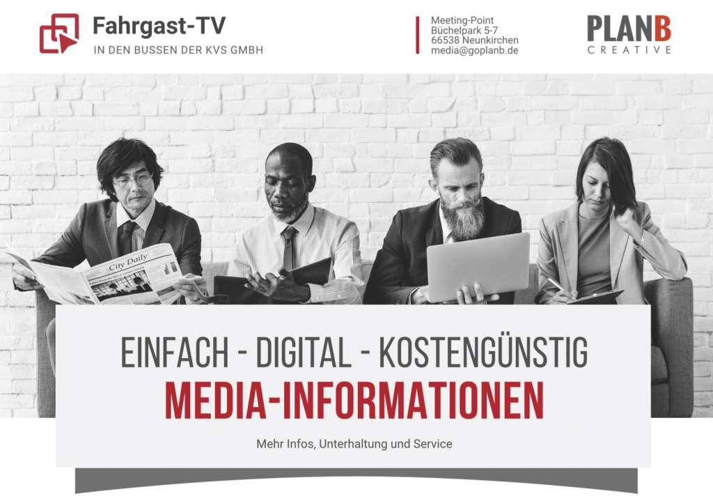 KVS PLANB Fahrgast-TV