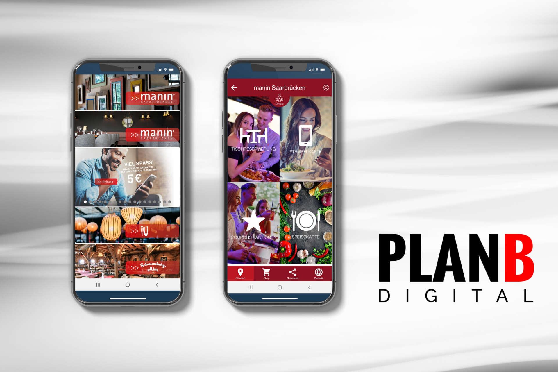 PLANB Manin App