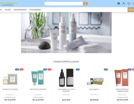 PLANB CREATIVE und city-cosmetics.de – der neue Shop ist jetzt online
